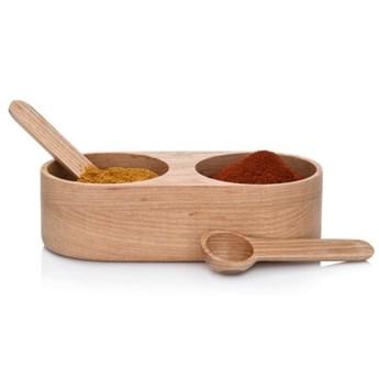 Pojemnik kuchenny na sól i pieprz DUKA FYNDIG drewniany
