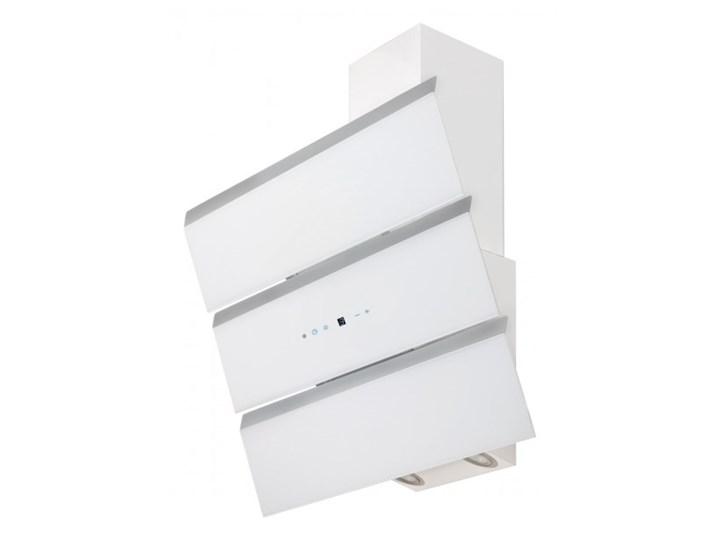 Okap przyścienny Toflesz OK-6 CASCADA 90 Biały 700 m3/h Okap kominowy Sterowanie Elektroniczne Kategoria Okapy