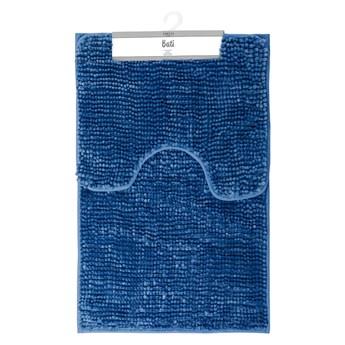 Zestaw 2 ciemnoniebieskich dywaników łazienkowych AmeliaHome Bati