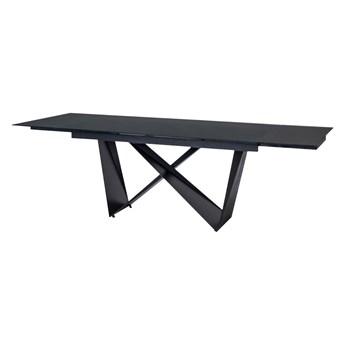 SELSEY Stół rozkładany Surtsey 160-240x90 cm czarny