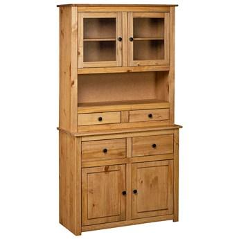 Drewniany kredens w stylu vintage - Havo