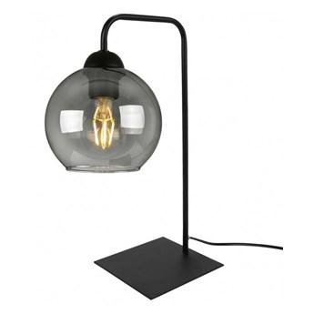 Lampka Nocna z Awangardowym Szklanym Kloszem