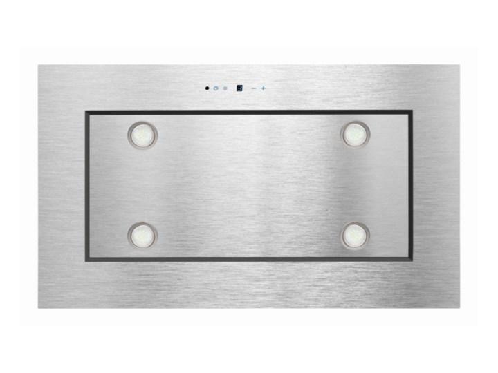 Okap sufitowy TOFLESZ OK-4 LUXOR Inox 850 m3/h Kategoria Okapy Kolor Szary