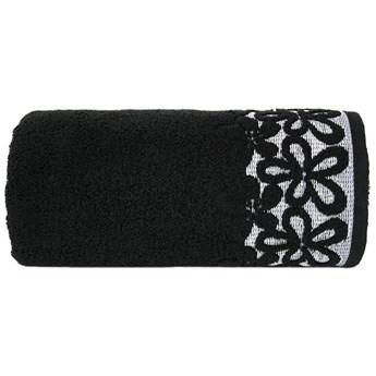 Ręcznik bawełniany Greno czarny RFQ-01