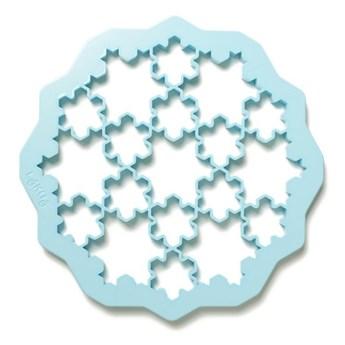 Lekue - Forma do wykrawania ciastek PUZZLE SNOW