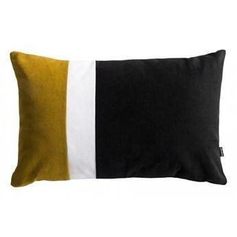 Pram L miodowa welurowa poduszka dekoracyjna 40x60 cm