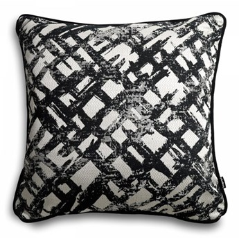 Czarna poduszka dekoracyjna Glow 45x45