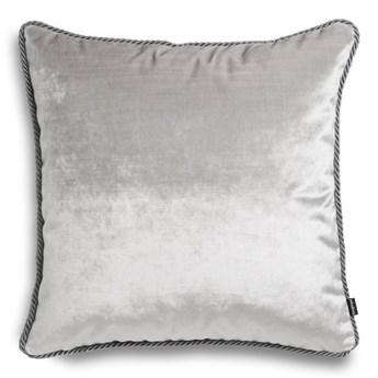 Szara poduszka dekoracyjna Glamour