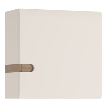 Szafka wisząca Linate - Kolor: Biały Mat/Biały Alpejski Połysk/Trufla 54.5x54.5x28