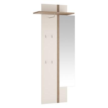 Wieszak Linate - Kolor: Biały Mat/Trufla 88x194.5x35