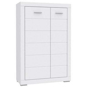 Szafka Snow - Kolor: Biały Mat 101x154x41