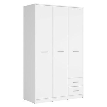 Szafa Nepo Plus - Kolor: Biały 119x197x55