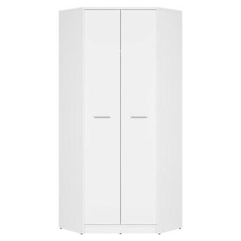 Szafa Narożna Nepo Plus - Kolor: Biały 80x197x80