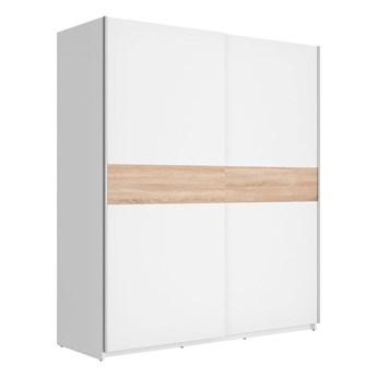 Szafa F27 170 - Kolor: Biały/Dąb Sonoma