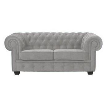 Sofa 2-osobowa Manchester - Kolor: Szary 180x74x100