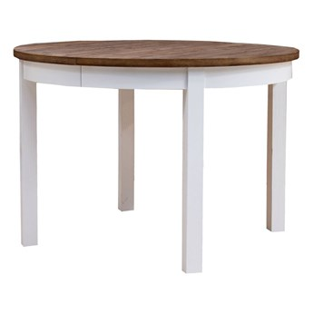 Stół Okrągły Provance - Dł. po rozłożeniu: 215 cm