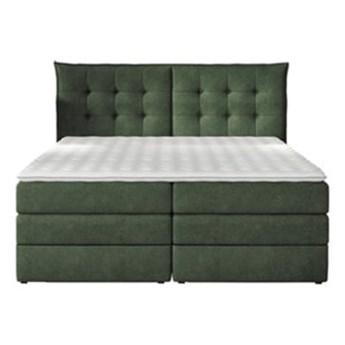 Łóżko kontynentalne 140 Fendy - Kolor: Zielony