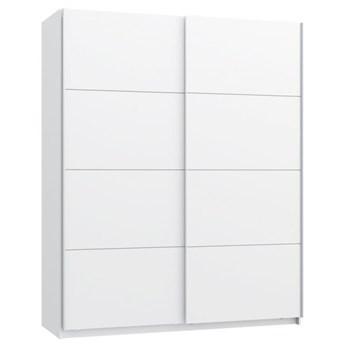Szafa 170 Starlet White - Kolor: Biały/Biały Połysk