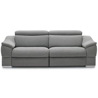 Sofa 2-osobowa z funkcją relaksu elektrycznego lewa Urbano - Kolor: Szary 182x79x104