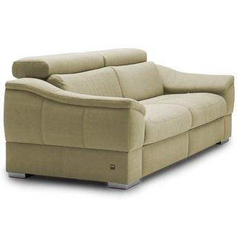 Sofa 3-osobowa z funkcją relaksu manualnego lewa Urbano - Kolor: Beżowy 222x79x104