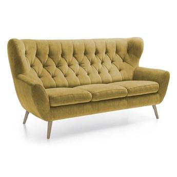 Sofa 3-osobowa Voss - Kolor: Musztardowy 187x101x95