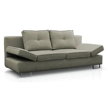 Sofa Martina - Rozkładana z funkcją spania - Kolor: Zielony 210x74x100