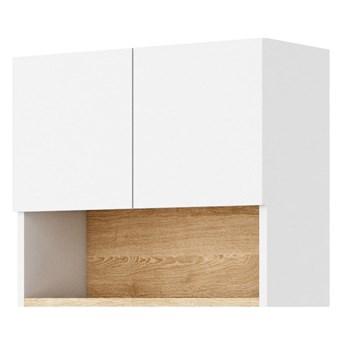 Szafka wisząca Claro - Kolor: Biały/Dąb Riviera 56x48x24