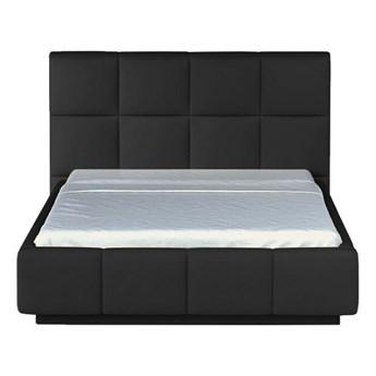 Łóżko 140x200 cm Asti - Kolor: Czarny