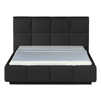 Łóżko 160x200 cm Asti - Kolor: Czarny
