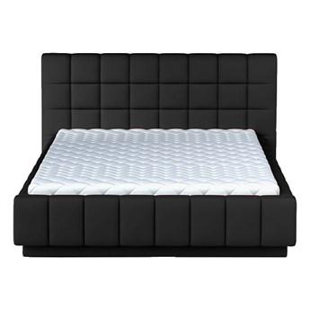 Łóżko 160x200 cm Prato - Kolor: Czarny