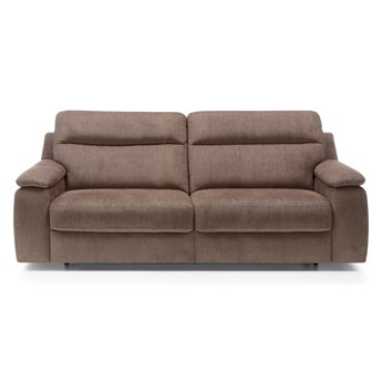 Sofa Libretto - Rozkładana z funkcją spania - Kolor: Jasnobrązowy 210x99x100