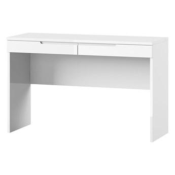 Toaletka Selene - Kolor: Biały/Biały Połysk 120x76x46