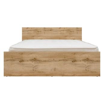 Łóżko Zele 140 - Kolor: Dąb Wotan