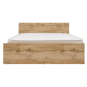Łóżko Zele 160 - Kolor: Dąb Wotan