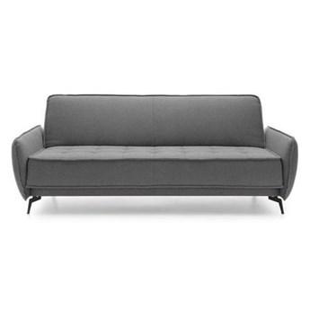 Sofa Vigo - Rozkładana z funkcją spania - Kolor: Szary 223x84x95