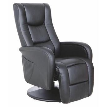 Fotel rozkładany Pulsar - Kolor: Czarny 68x106x85