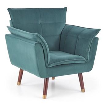 Fotel wypoczynkowy Rezzo - Kolor: Ciemny Zielony 80x84x73