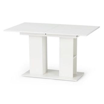 Stół Rozkładany Kornel - Dł. po rozłożeniu: 170 cm - Kolor: Biały