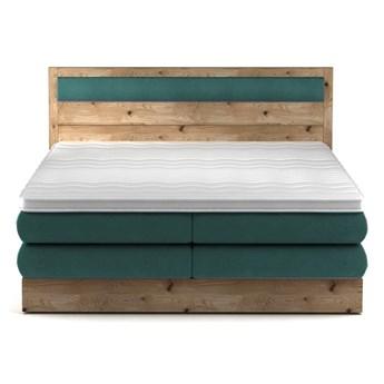 Łóżko kontynentalne 160 Diori - Kolor: Zielony