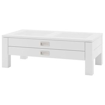Stolik Anzio - Kolor: Biały Matowy 110x39x60