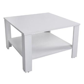 Ława Odette - Kolor: Biały Alpejski 67.5x47.5x67.5