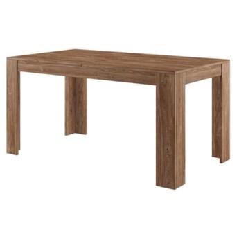 Stół rozkładany Nelson - Dł. po rozłożeniu: 210 cm - Kolor: Dąb Stirling