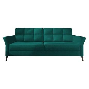 Sofa Fuego - Rozkładana z funkcją spania - Kolor: Zielony 236x75x99