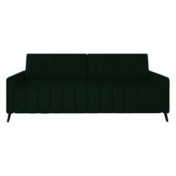 Sofa Molly - Rozkładana z funkcją spania - Kolor: Zielony 226x78x101