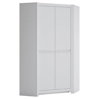 Szafa narożna Novi - Kolor: Biały Mat 103.3x198.5x103.3