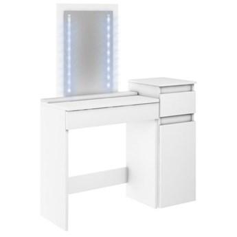 Toaletka Megan 1S1D - Kolor: Biały Meble 104x142.5x37
