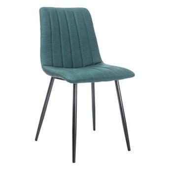Krzesło Alan - Kolor: Ciemny Zielony 45x88x40