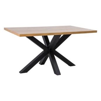 Stół Cross Dąb 150 - Kolor: Dąb/Czarny
