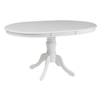 Stół Rozkładany Olivia - Dł. po rozłożeniu: 141 cm - Kolor: Biały