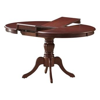 Stół Rozkładany Olivia - Dł. po rozłożeniu: 141 cm - Kolor: Ciemny Orzech